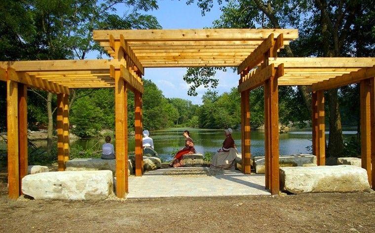 Pergolas de madera para el jardín - más de cincuenta ideas ...
