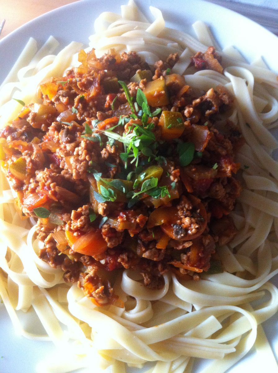 Skinny (syn free) Spaghetti Bolognese
