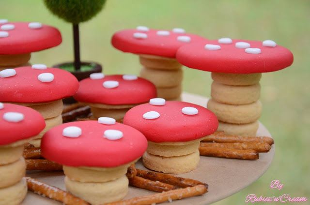 Toadstools - Little Big Company | The Blog: Bambi and Friends in the Enchanted Woodland Party by Rubiez n Cream