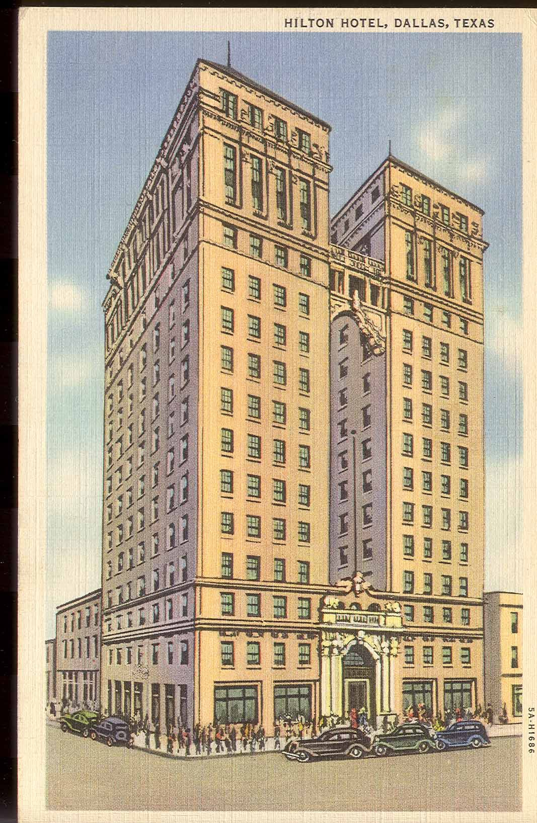 1925 conrad hilton opens the high rise dallas hilton the first 1925 conrad hilton opens the high rise dallas hilton the first hotel to carry the hilton name since air conditioning hadnt yet been invented reheart Images