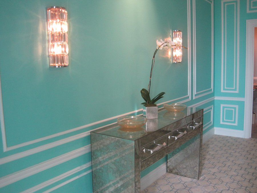 Tiffany Blue roomwould love this as a