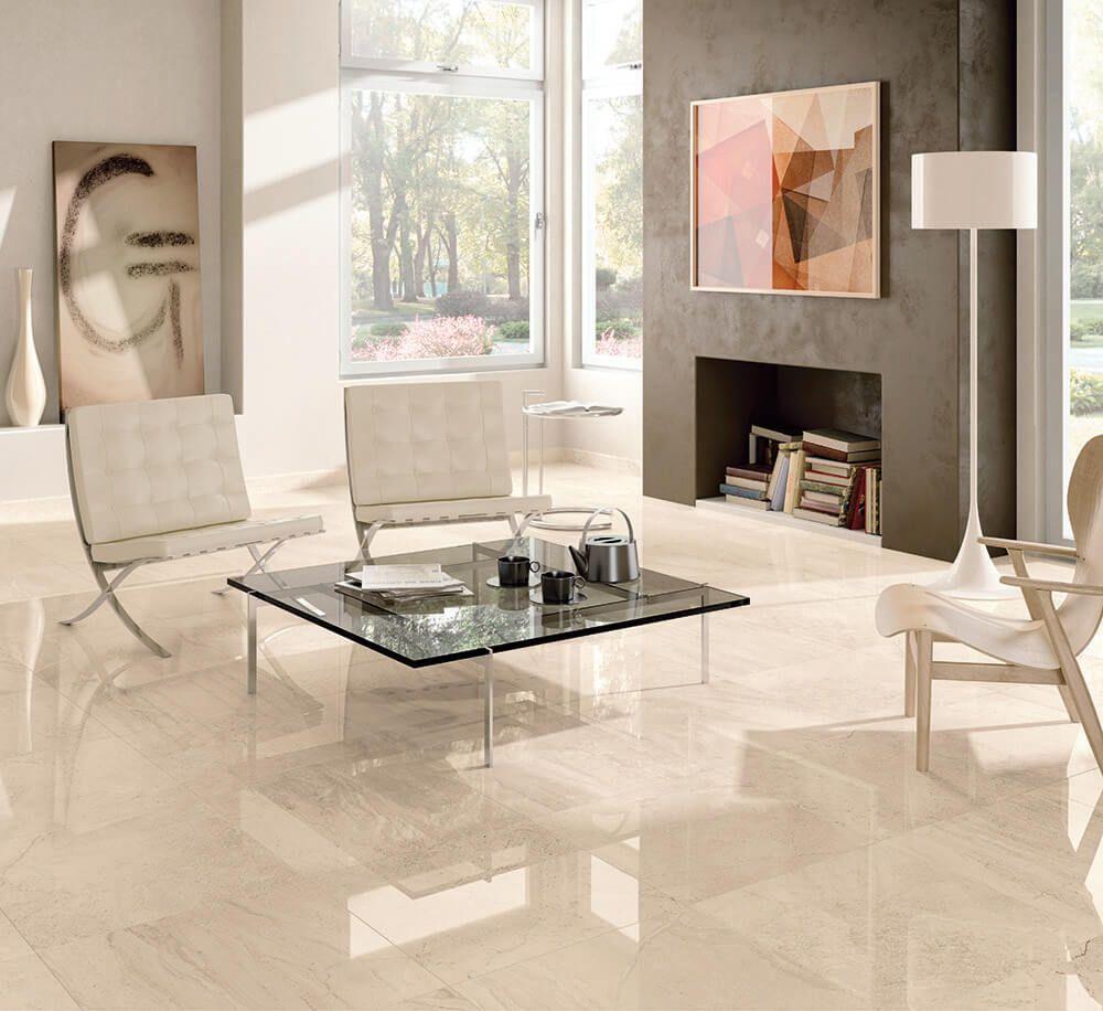 Shining Tiles Designs For Your Floors Living Room Tiles Floor