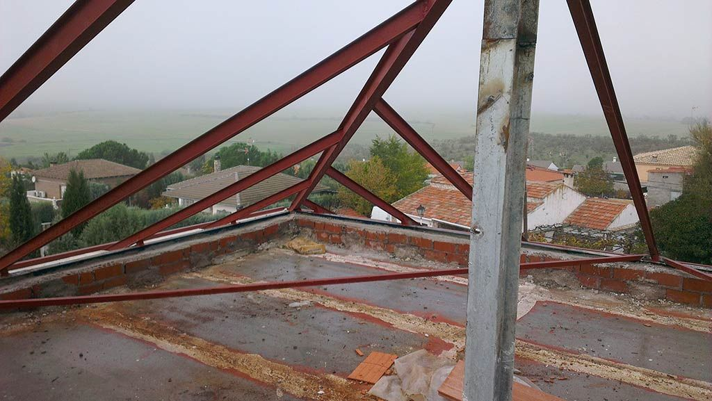 Estructura de acero para cubierta | telhado | Pinterest