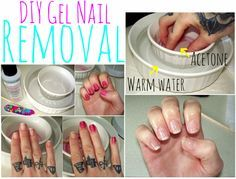 Forget The Foil And Cotton Ball Method This Is The Easiest Way To Remove Gel Nails Gel Nails Diy Gel Nail Removal Remove Gel Polish