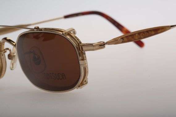 Sunglasses Pg On Carettavintage Matsuda Vintage 10403 Clip By bg7fY6yv
