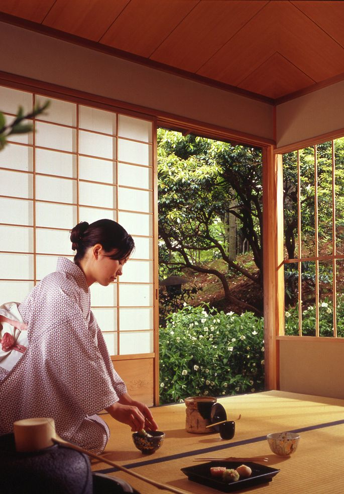 Japanese Tea House | Photo Credit: Westin Miyako