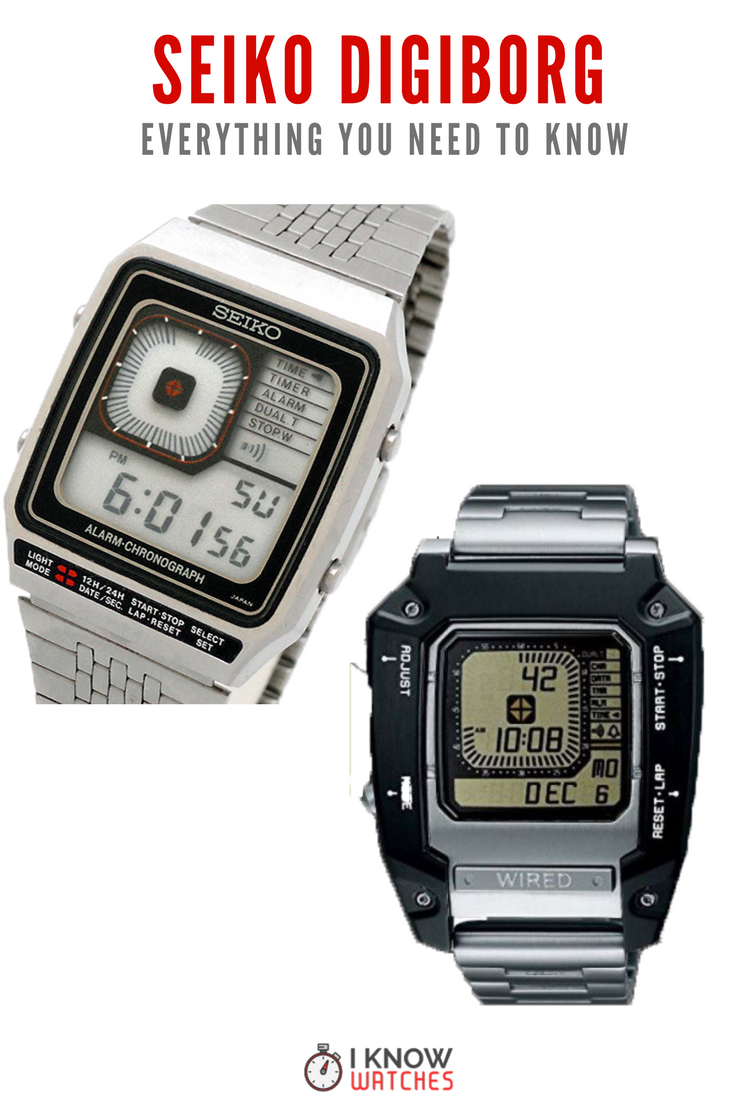 Seiko G757 series Digiborgs are still a cult classic. From the James ...