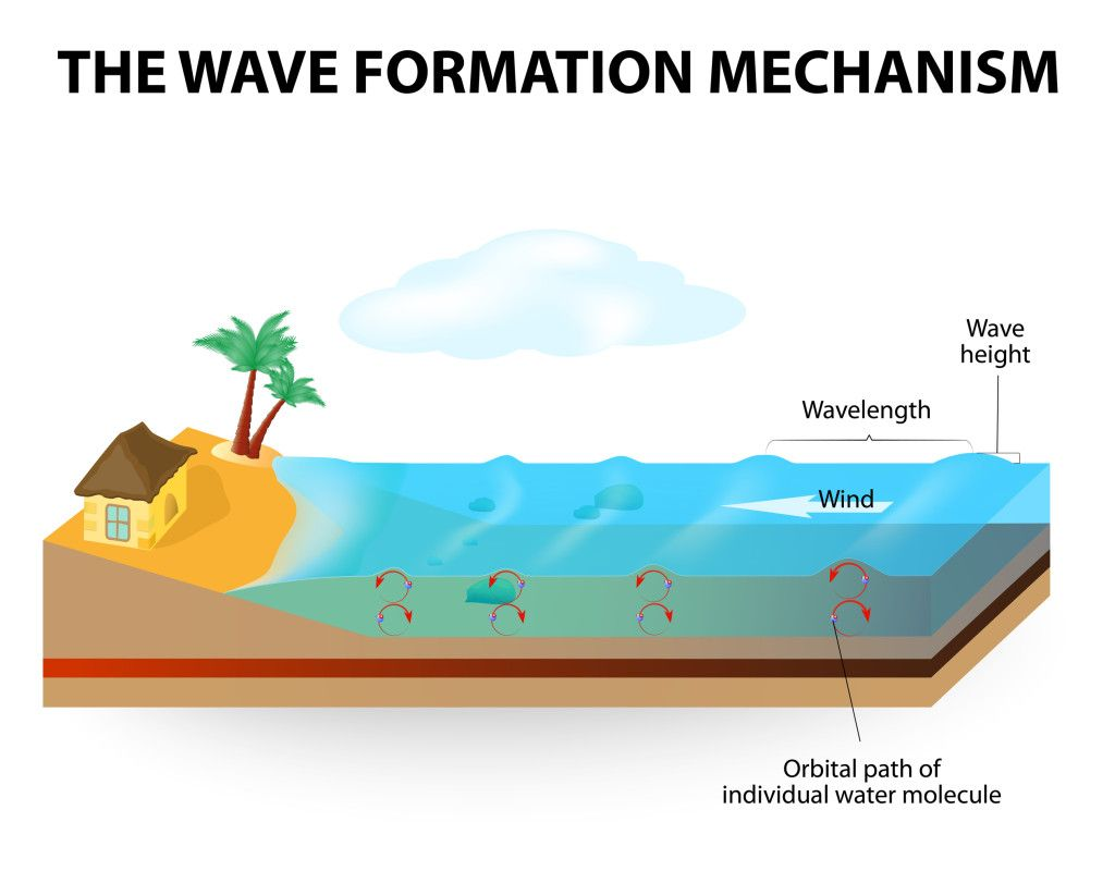 How waves form physical science how waves form education waves kids pooptronica Choice Image