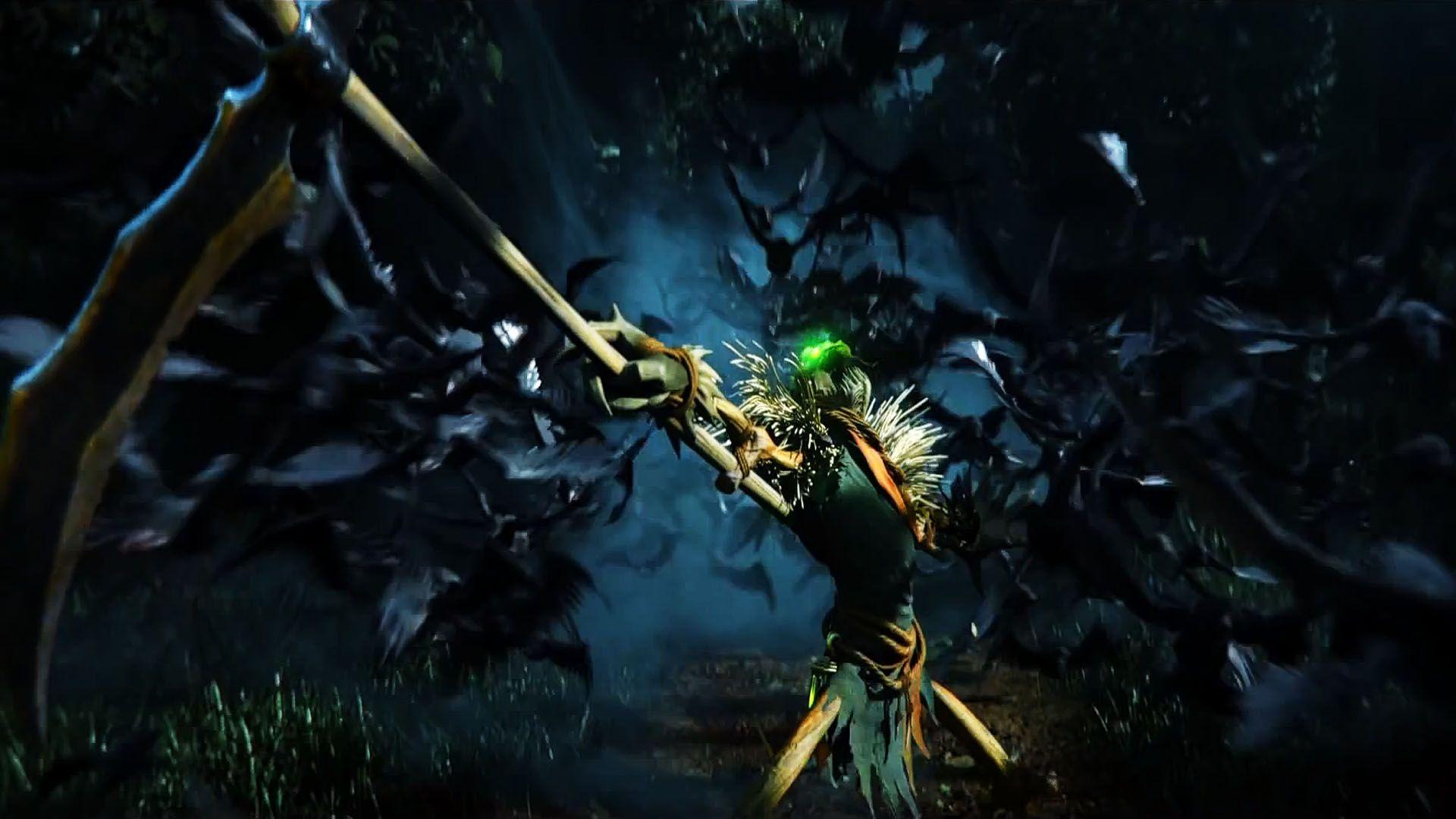 League Of Legends Fiddlesticks League Of Legends Wallpaper Legend