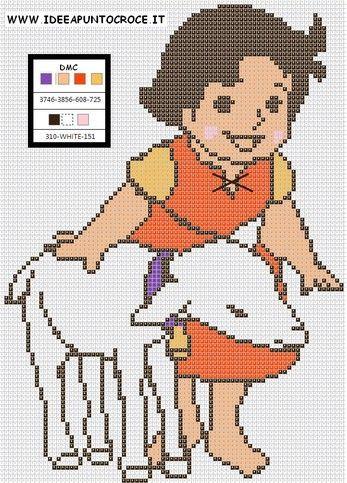 Download schemi idee a punto croce cross stitch for Idee punto croce neonati