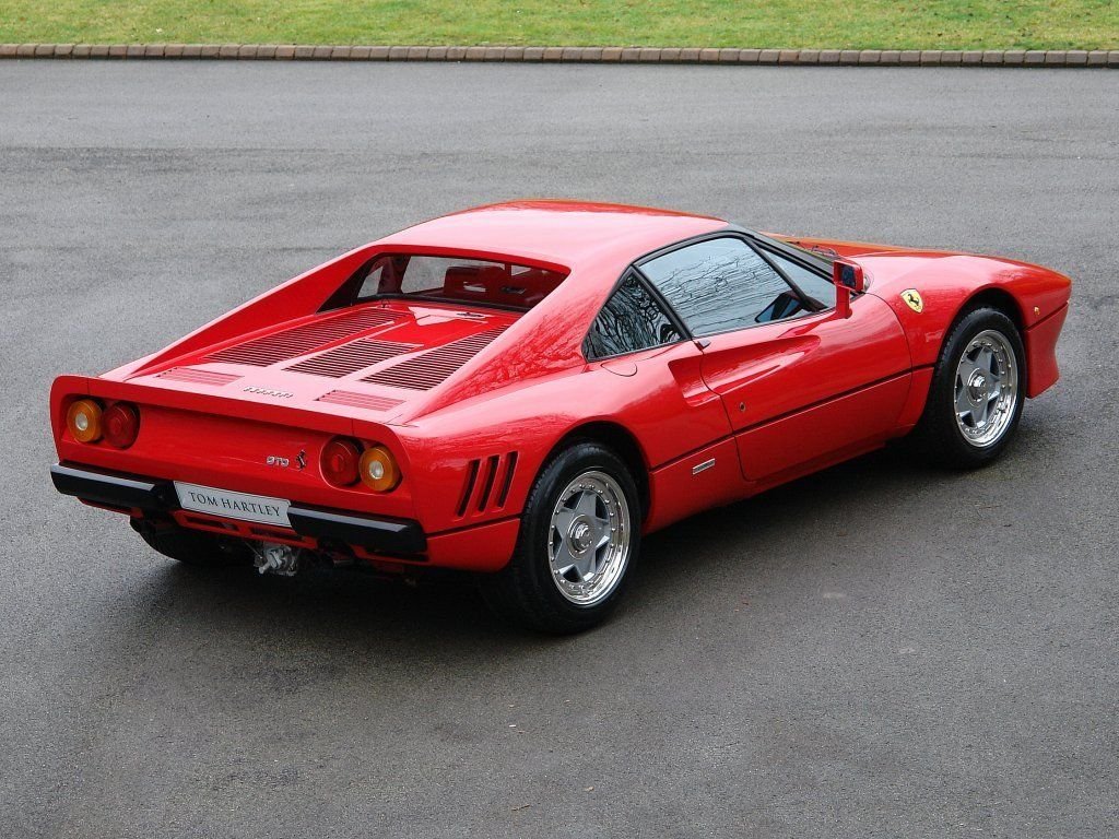 FERRARI 288 GTO 1 Owner - Tom Hartley Jnr