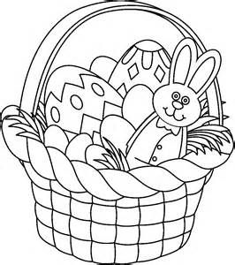 Bing easter. Black and white clip