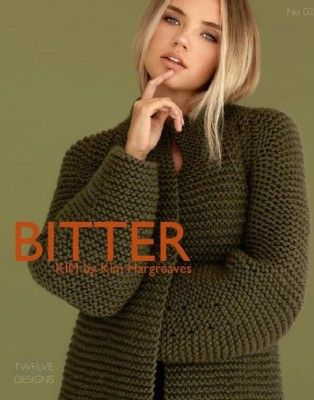 Bitter by Kim Hargreaves | Sacos tejidos, Sacos y Suéteres