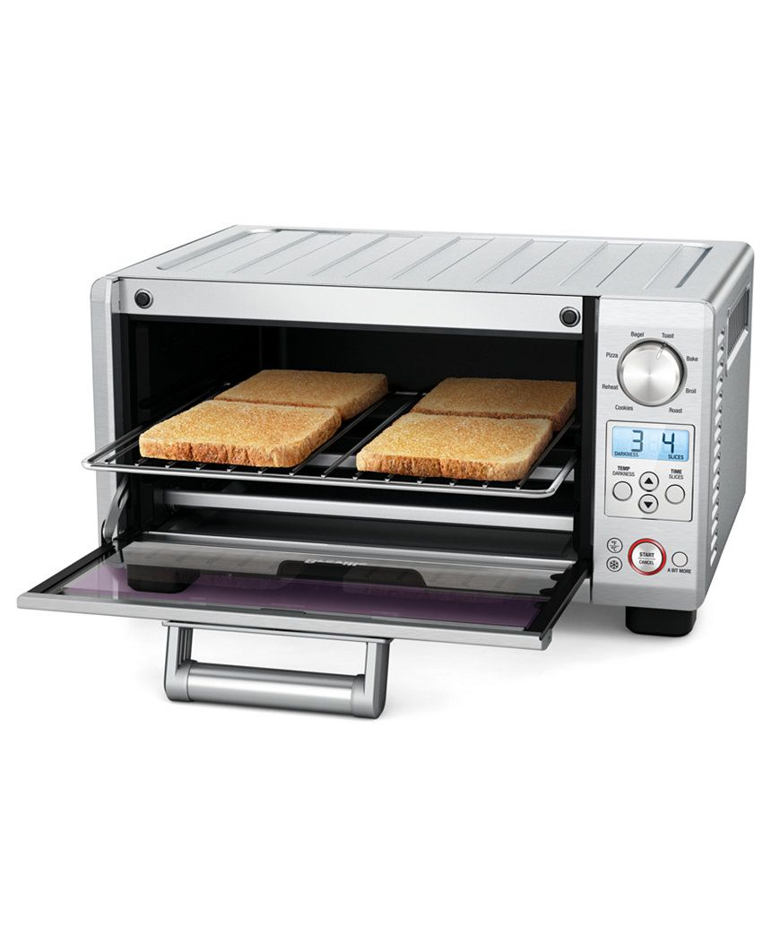 Breville Bov450xl Toaster Oven The Mini Smart Oven Reviews Small Appliances Kitchen Macy S Smart Oven Toaster Oven Reviews Toaster Oven