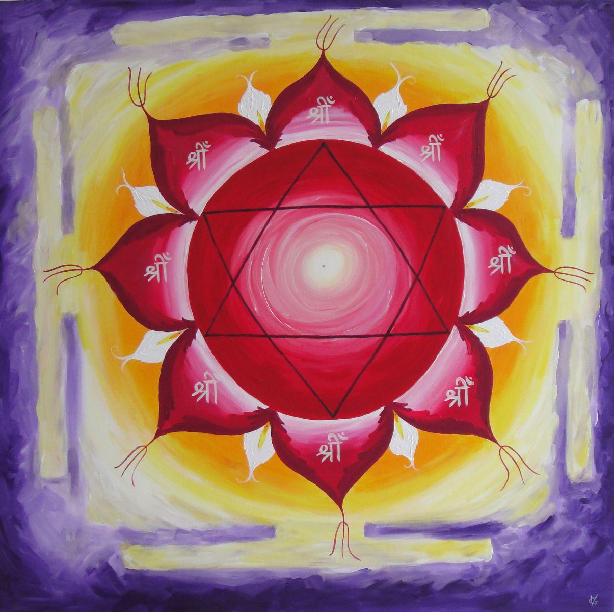 Lakshmi Yantra By Victoria Felstead