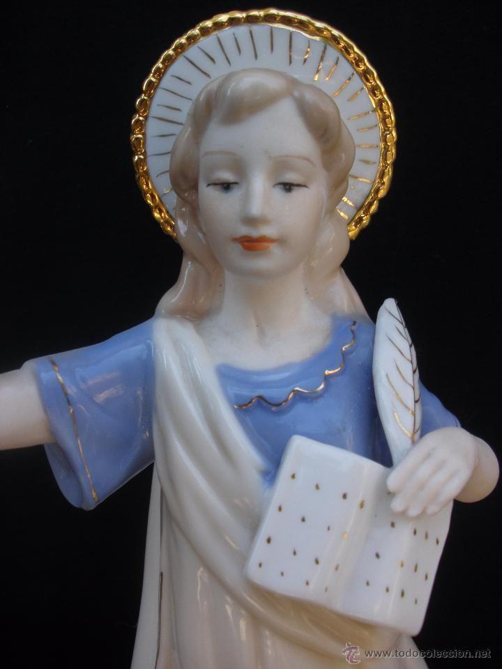 Gran Figura de San Pancracio en porcelana valenciana?