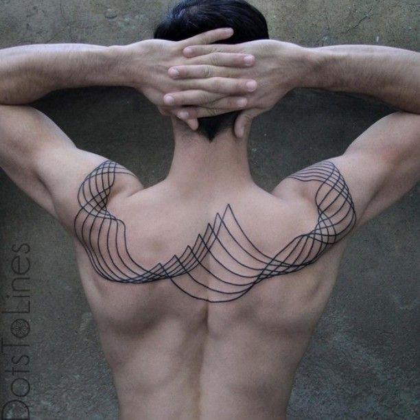 Tattoo artist: @dotstolines #wowtattoo by wowtattoo