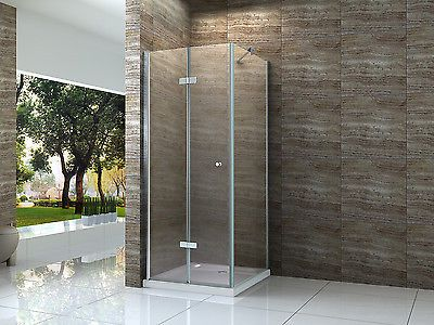 HELTO 80 x 80 cm Glas Dusche Duschkabine Duschwand Duschabtrennung ...   {Duschabtrennung 76}