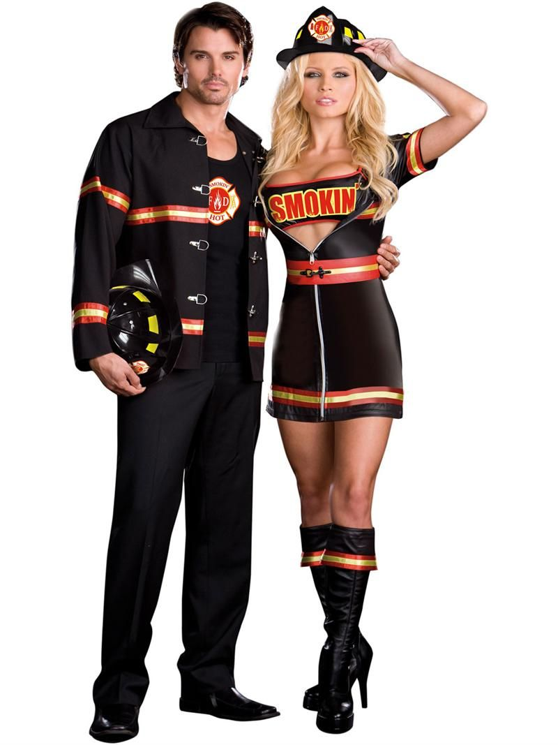 couples costumes. dreamgirl fireman couples costume online at