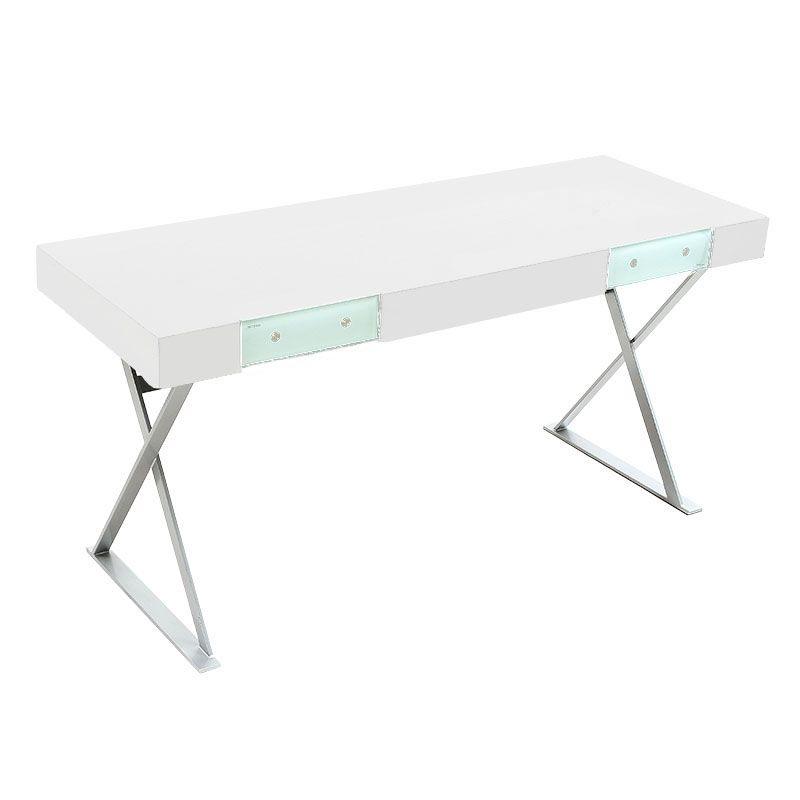 Modern Desks Teflord 62 Inch Wenge Desk Modern Desk White Desks Modern Furniture