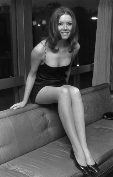 """""""I hope there's a tinge of disgrace about me... there's one good scandal left in me yet.""""  -Diana Rigg"""