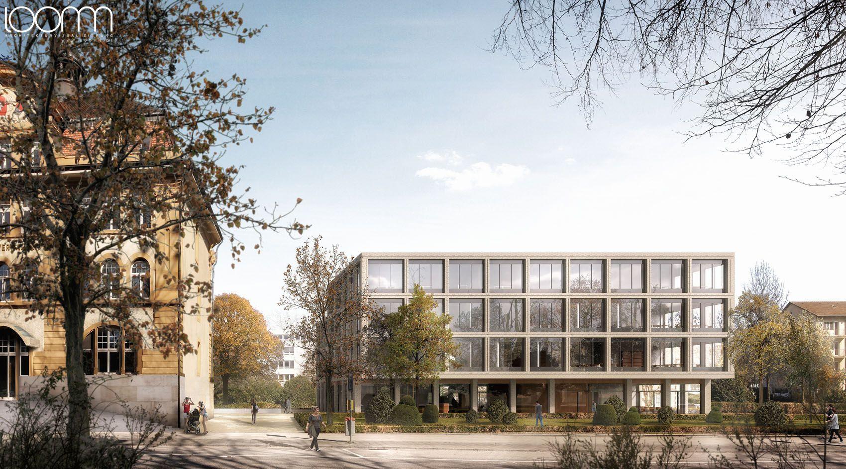 Architekturvisualisierung Preise erster preis für zimmer schmidt architekten mit dem entwurf eines