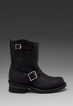 Frye 8r Engineer Black Boots $193