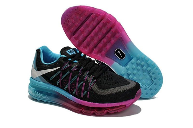 air max 2015 womens black and pink