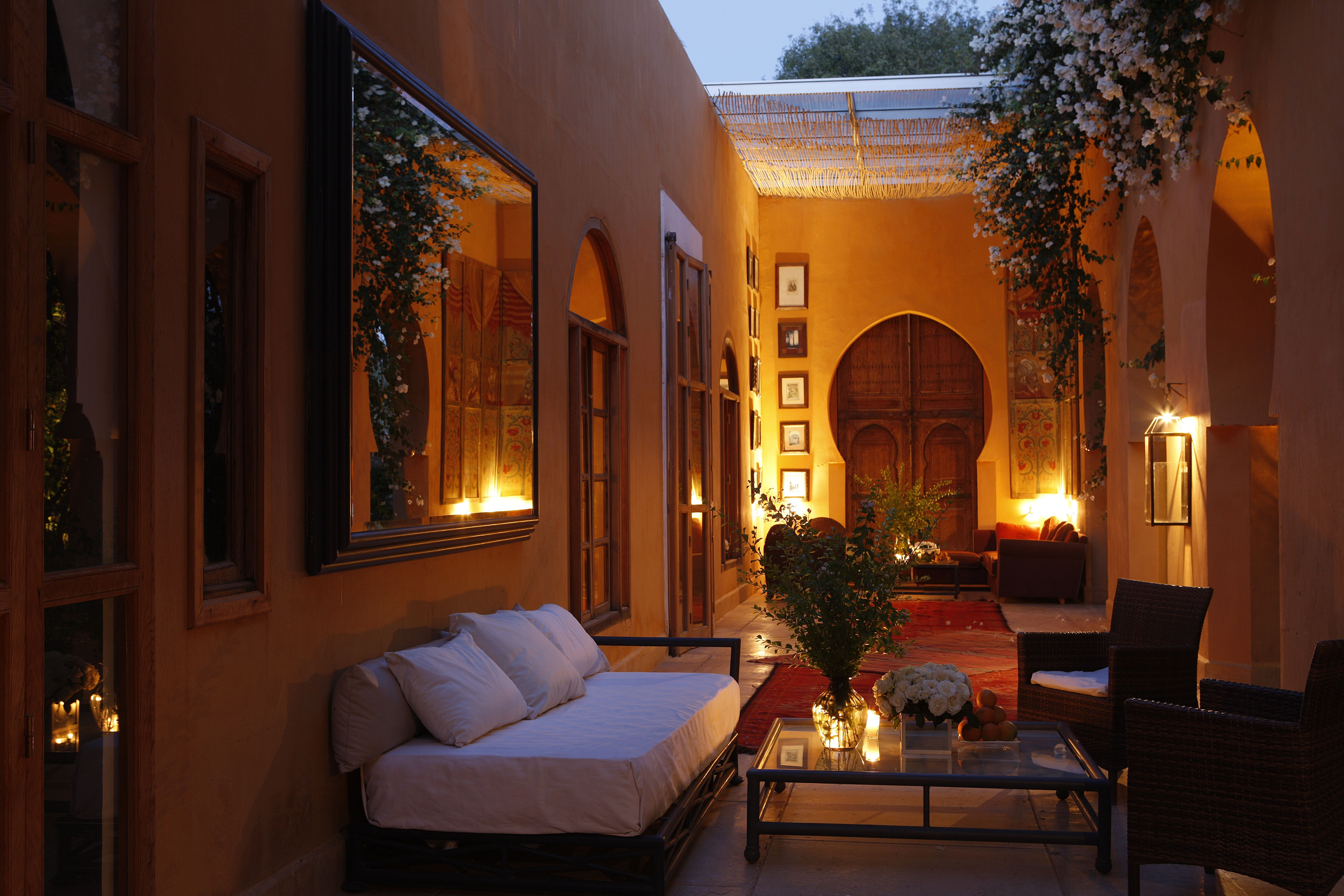 Terrasse Orientale Jnane House Hotel Traditional Moroccan Architecture Ryad Deco