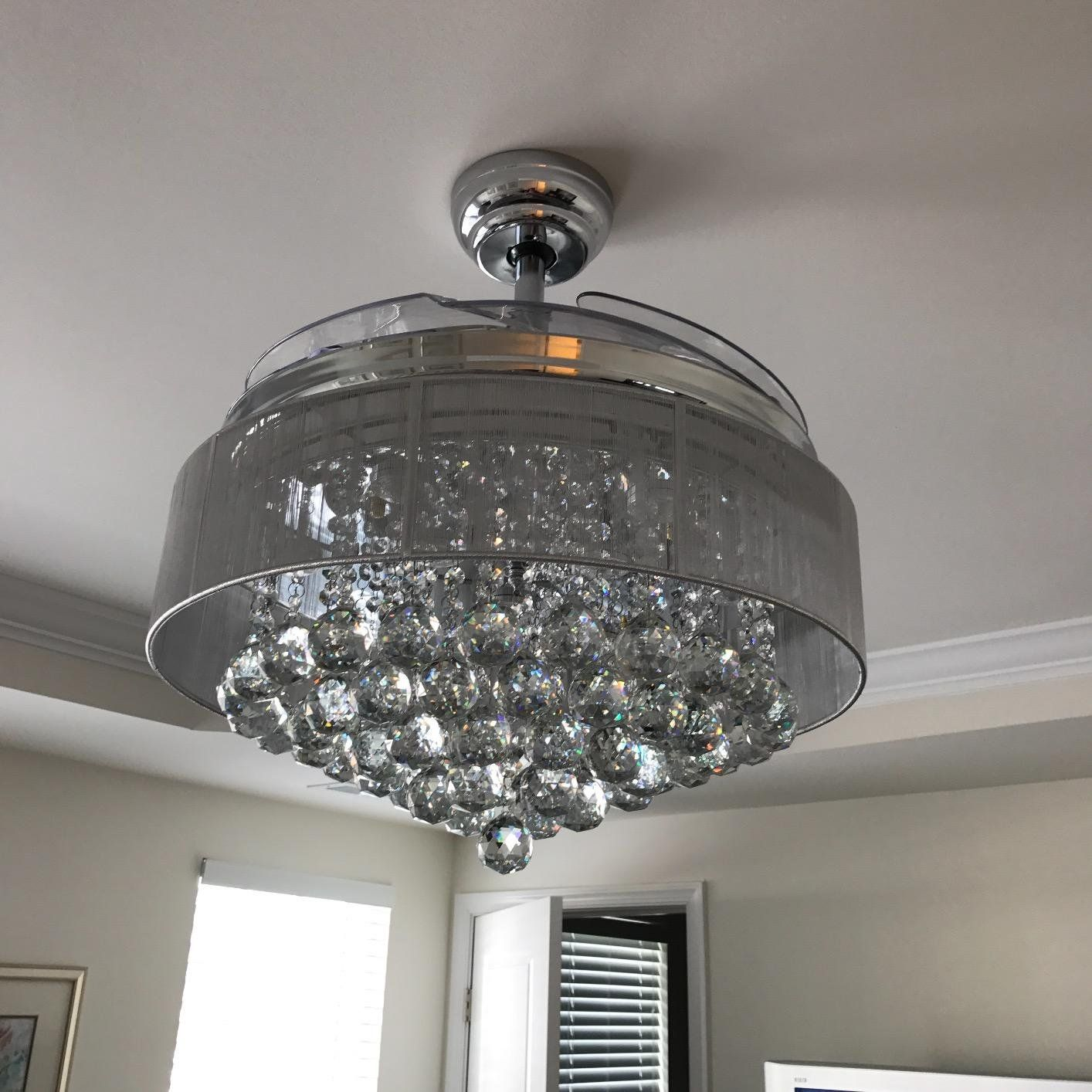 fans decorating and fan plus leafs glass retractable also design window shaped light interesting ceiling interior designs cool for white lamps with palm modern ideas
