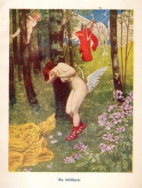 Fairy Tales For AdultsIllustrated by Artuš Scheiner - On the wings.