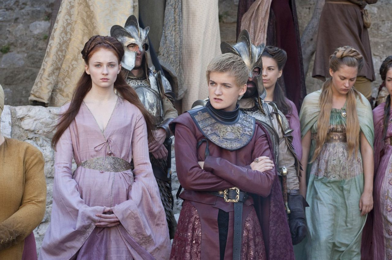 joffrey baratheon amp sansa stark gameofthrones photo
