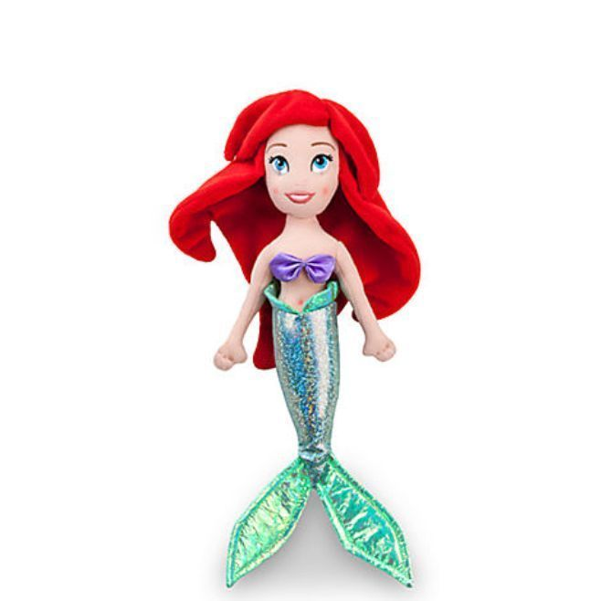 Disney Store Princess Ariel Little Mermaid Doll /& Flounder Toy Doll Figure 12/""