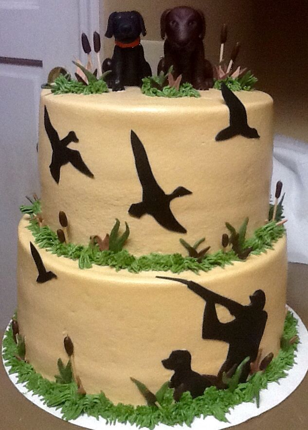 Duck hunting grooms cake | My cakes | Pinterest | Hunting grooms ...