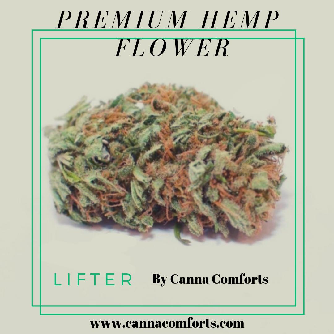 Lifter Hemp CBD Flower   Raw Hemp   Hemp, Herbs, Anxiety