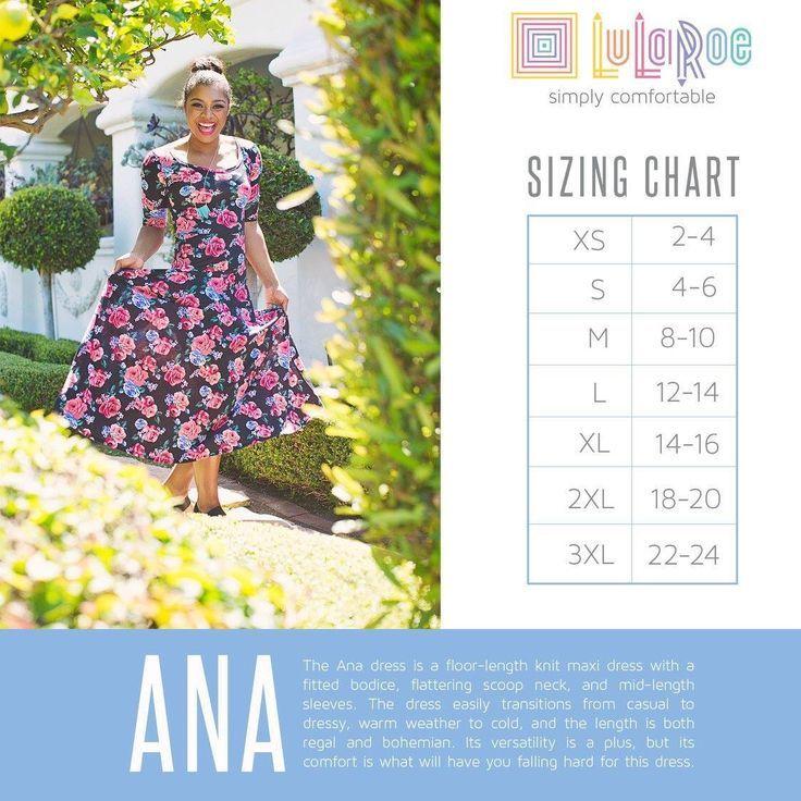 Maxi dress lularoe sizing recommendations