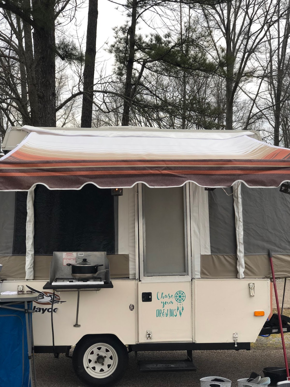 Replace Your Bag Awning On Your Pop Up Camper Pop Up Tent Trailer Camper Awnings Pop Up Camper