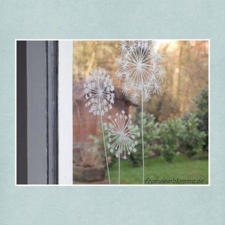 Dl Bines Blumen Fensterdeko Pinterest Fenster Kreide Und Basteln