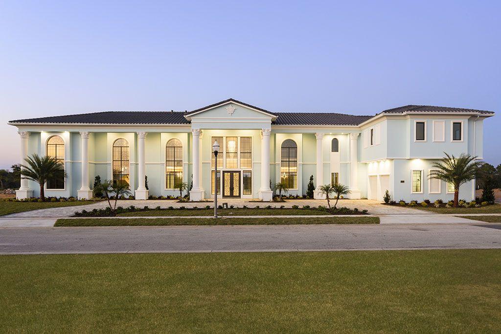 Reunion Resort Villa 10 Bed 10 Bath 11 453 Sq Ft Sleeps 20 Mansions 10 Bedroom House Resort Villa