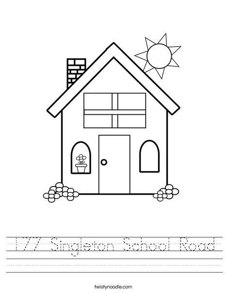 177 Singleton School Road Worksheet - Twisty Noodle in ...