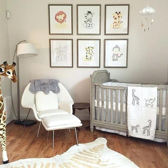 Safari Nursery Ideas: Baby Room Animals Animal Themed Room Best Animal Theme