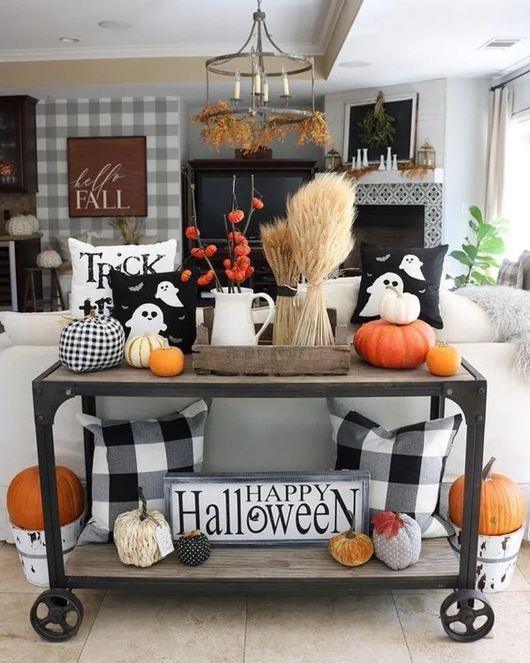 17 Modern Halloween Decorating Ideas Halloween Halloweendecor