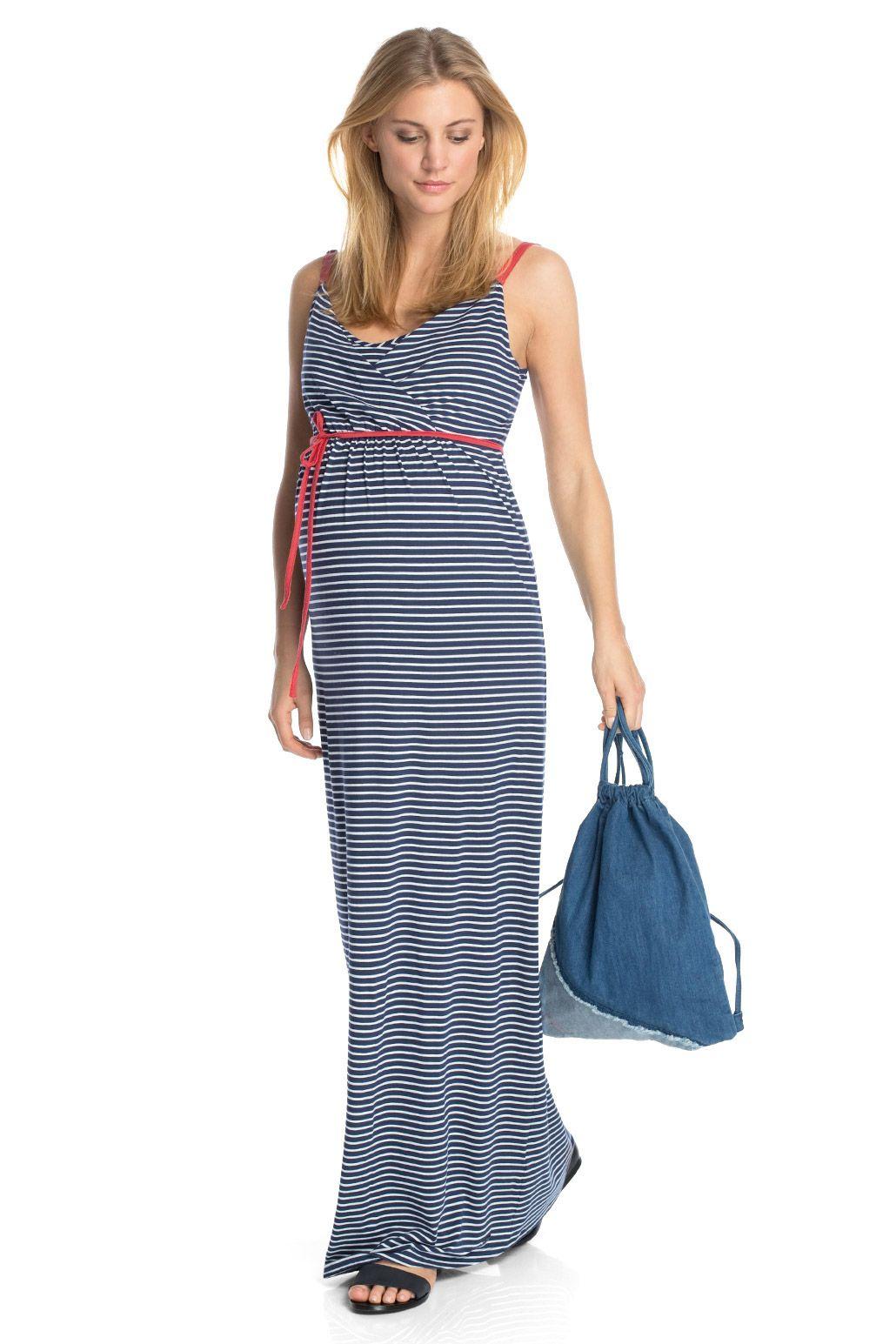 esprit robe longue en jersey stretch acheter sur la boutique en ligne quoi porter pour une. Black Bedroom Furniture Sets. Home Design Ideas
