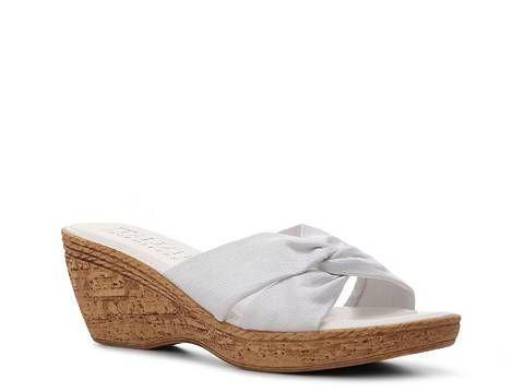 c3be07efe1c3c Italian Shoemakers Melbourne Wedge Sandal