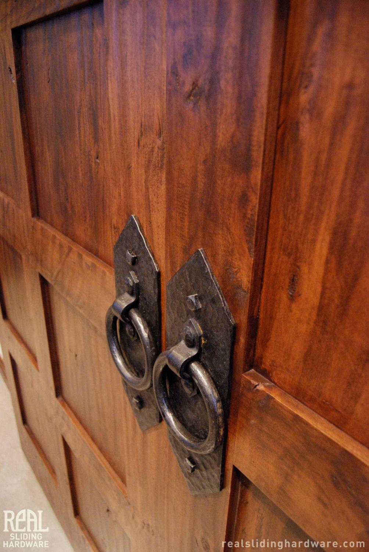Appleseed Rustic Ring Pulls Hand Forged By Realslidinghardware 130 00 Barn Door Installation Barn Door Handles Barn Door Hardware