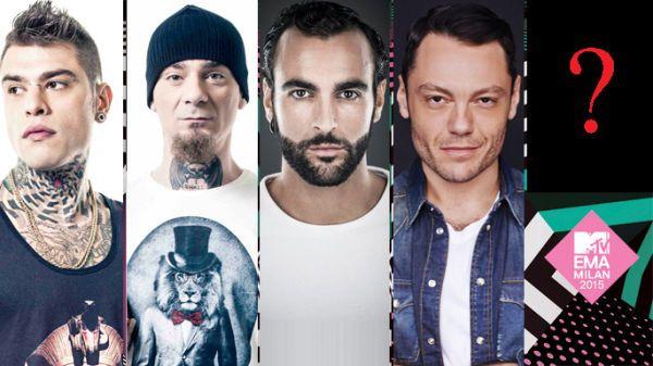 MTV EMA 2015: Fedez, J-Ax, Marco Mengoni, Tiziano Ferro nominati Best Italian Act! E il quinto lo scegli tu!