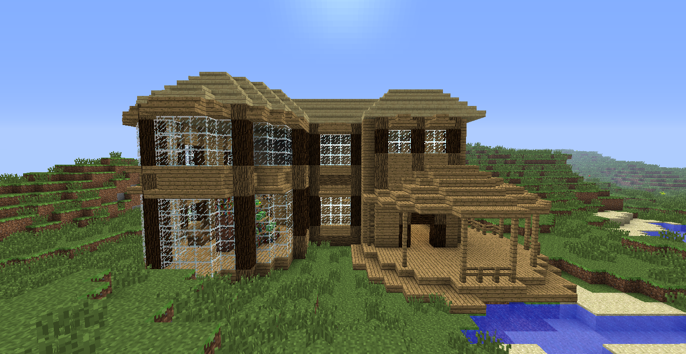 Cool houses in minecraft minecraft house 1 by mylithia for Cool ideas for building a house