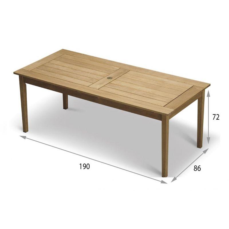 Skagerak Tisch Drachmann 190 × 86 cm   Skagerak   Pinterest   Schmidt