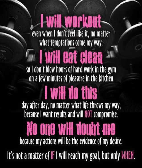 I will reach my goal :)