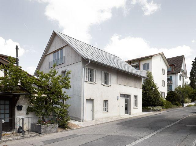 Graue Häuser das graue haus edelaar mosayebi inderbitzin emi architekten